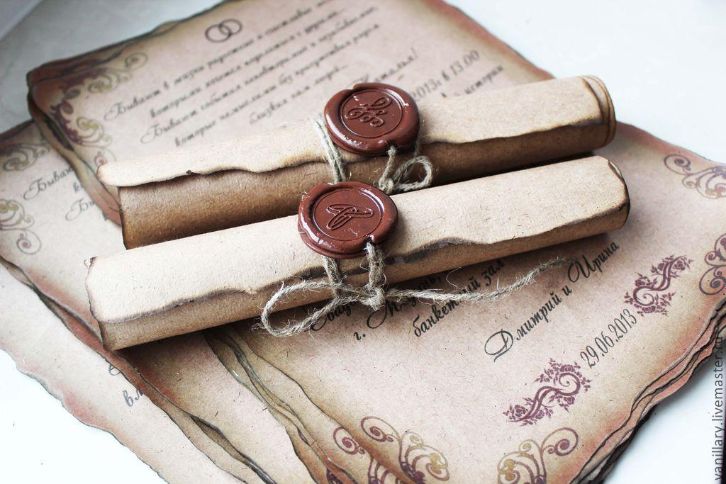 Старые приглашения на свадьбу, открытки