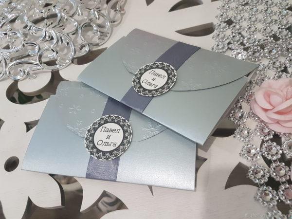 Пригласительные на серебряную свадьбу своими руками